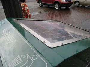 trash can solar