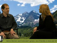 Denver Green Streets TV Interviews Christophe Fauchere. Director of Mother the Film