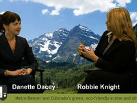 Denver Green Streets TV interviews Danette Dacey Bohl with CEFF