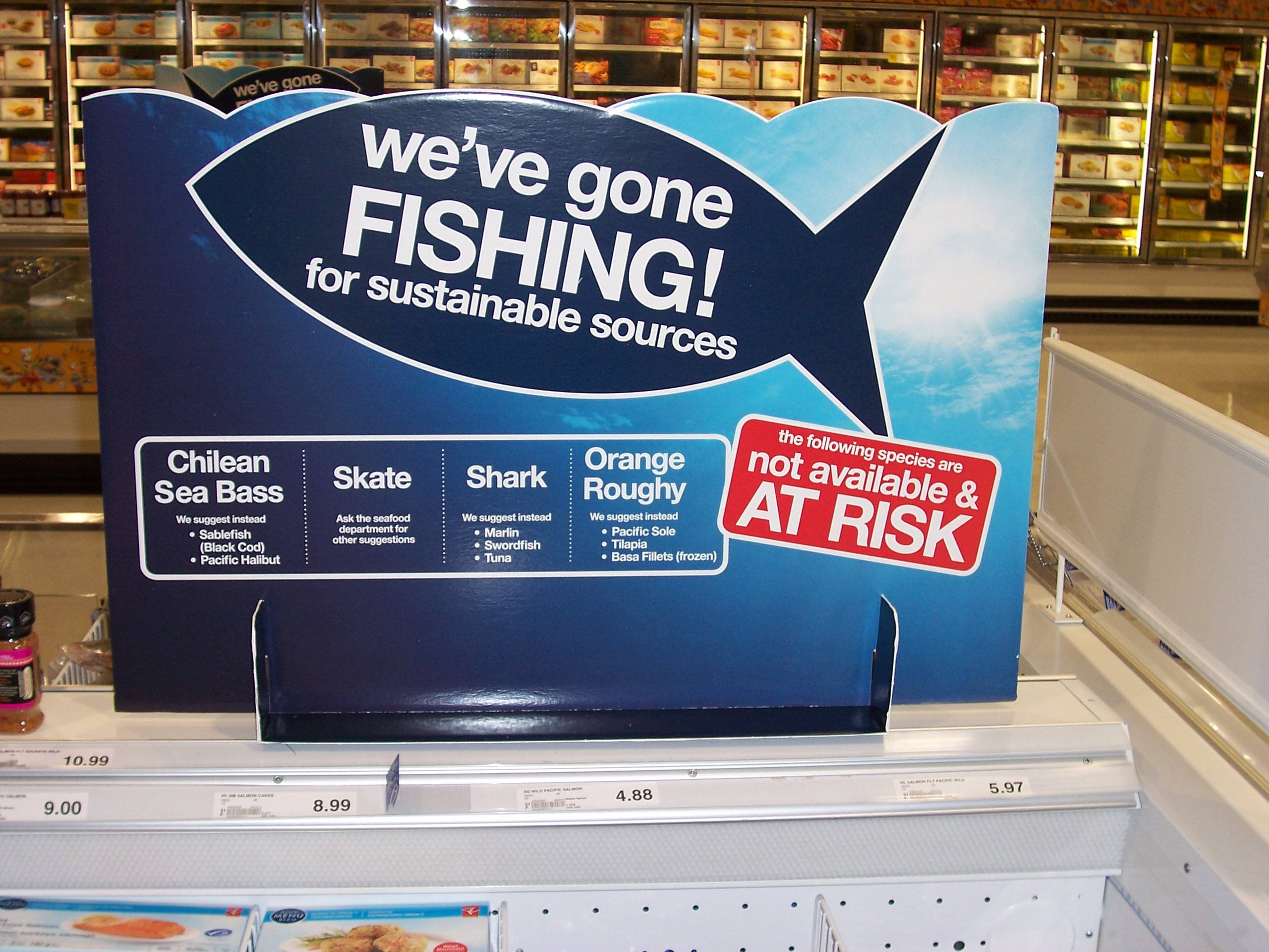Loblaw's Stance on Overfishing and Seafood Sustainability Commitment